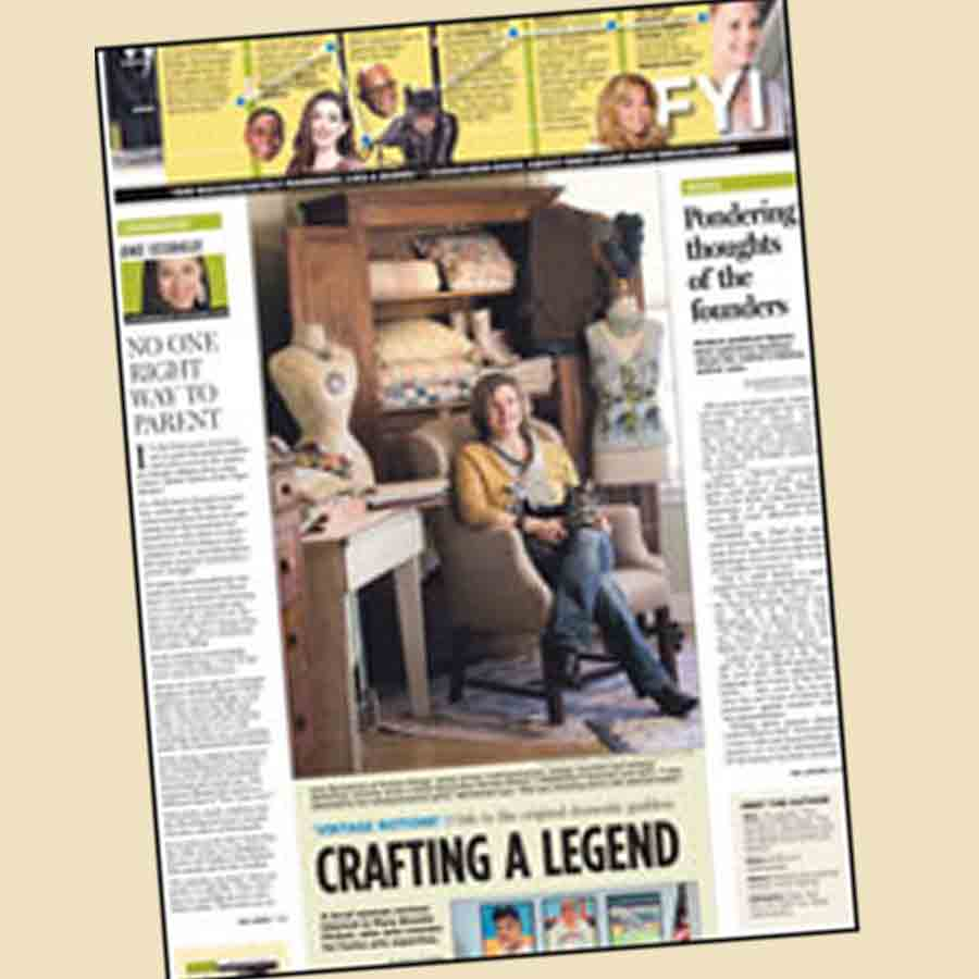 News Article: Crafting a Legend