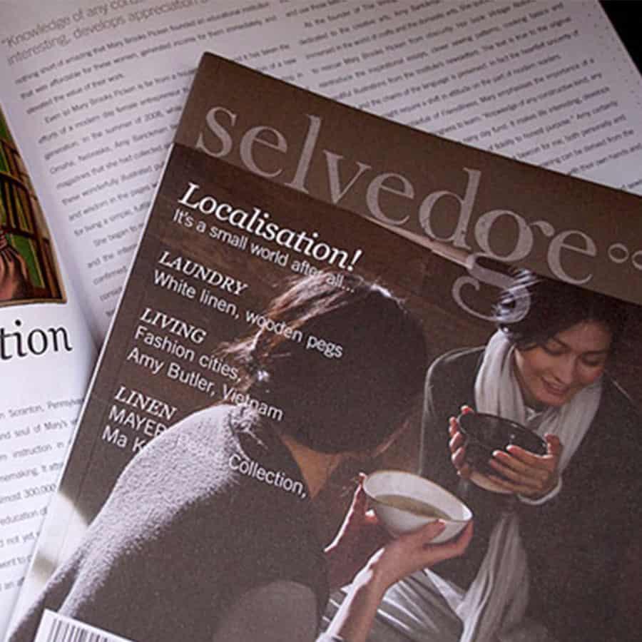 Selvedge Magazine cover