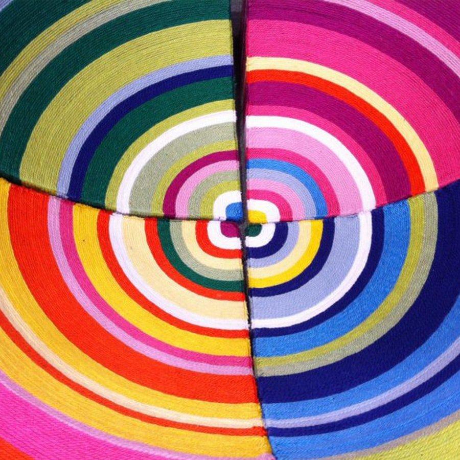 swirl of fabric