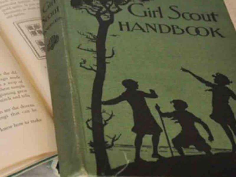 Vintage Girl Scout book