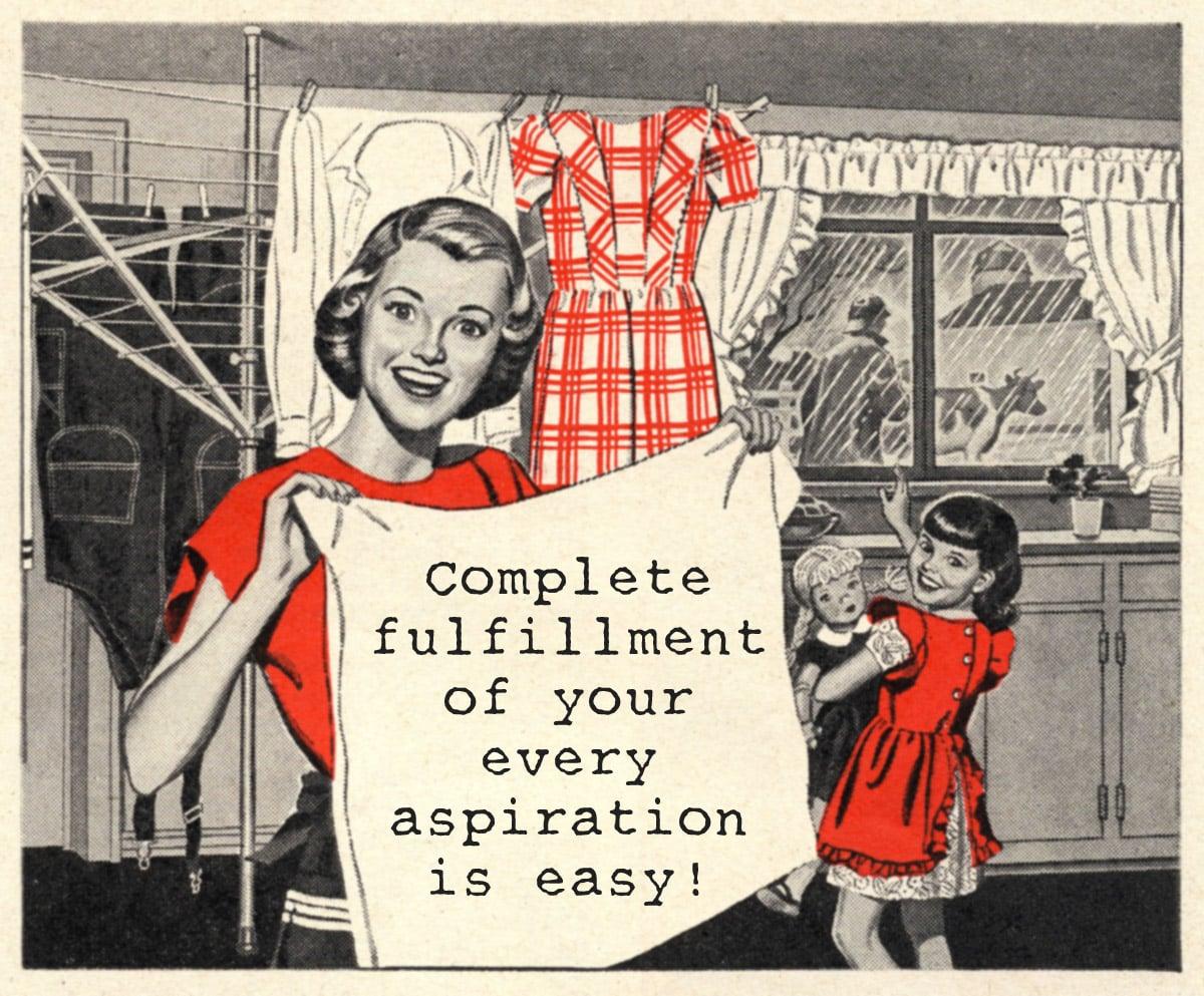 Favorite Vintage Advice: The Good Hostess