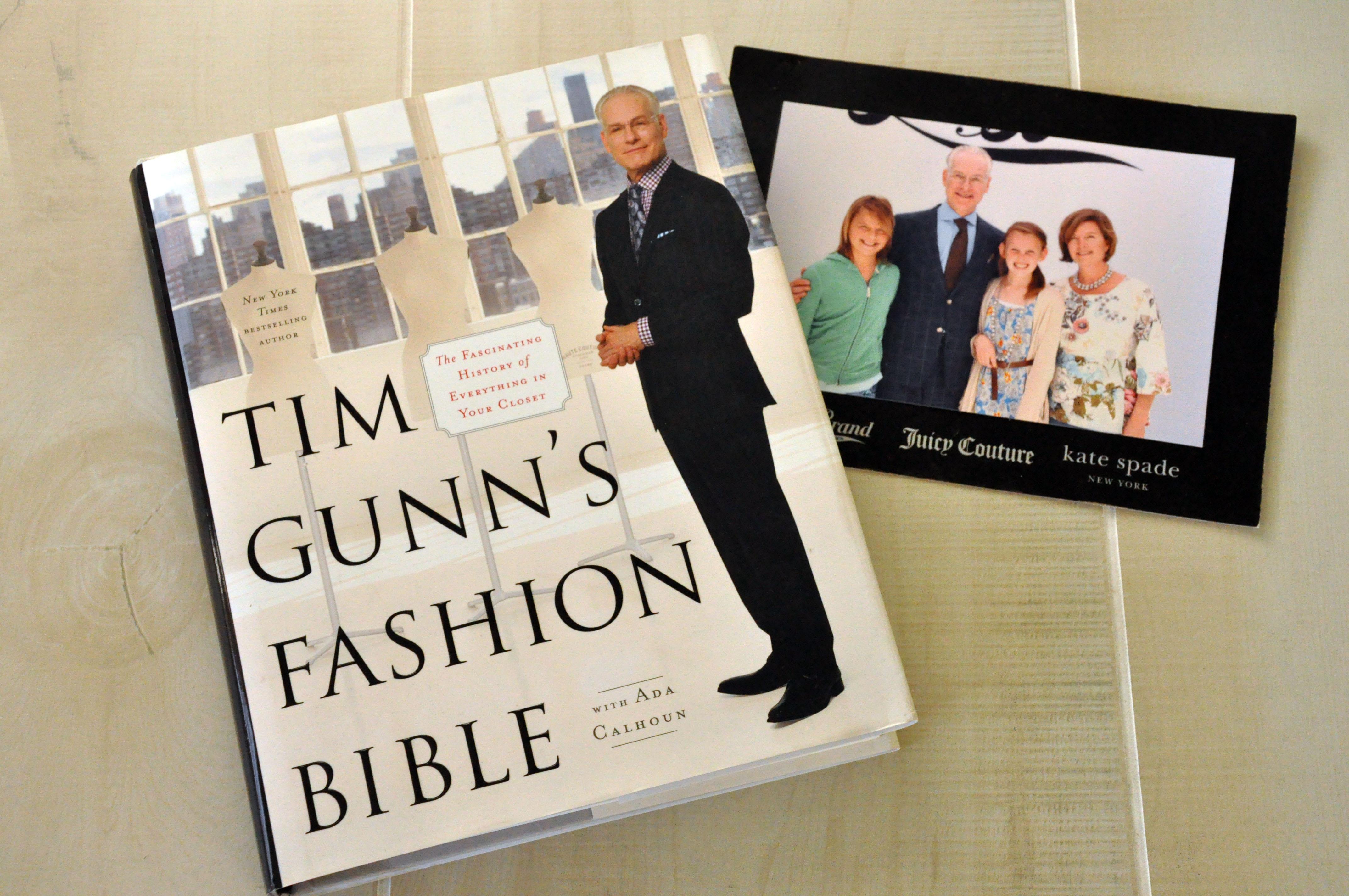 Tim Gunn's Fashion Bible Giveaway from AmyBarickman.com