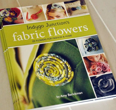 Indgyo Junction's Fabric Flowers - AB12302 from IndygoJunction.com