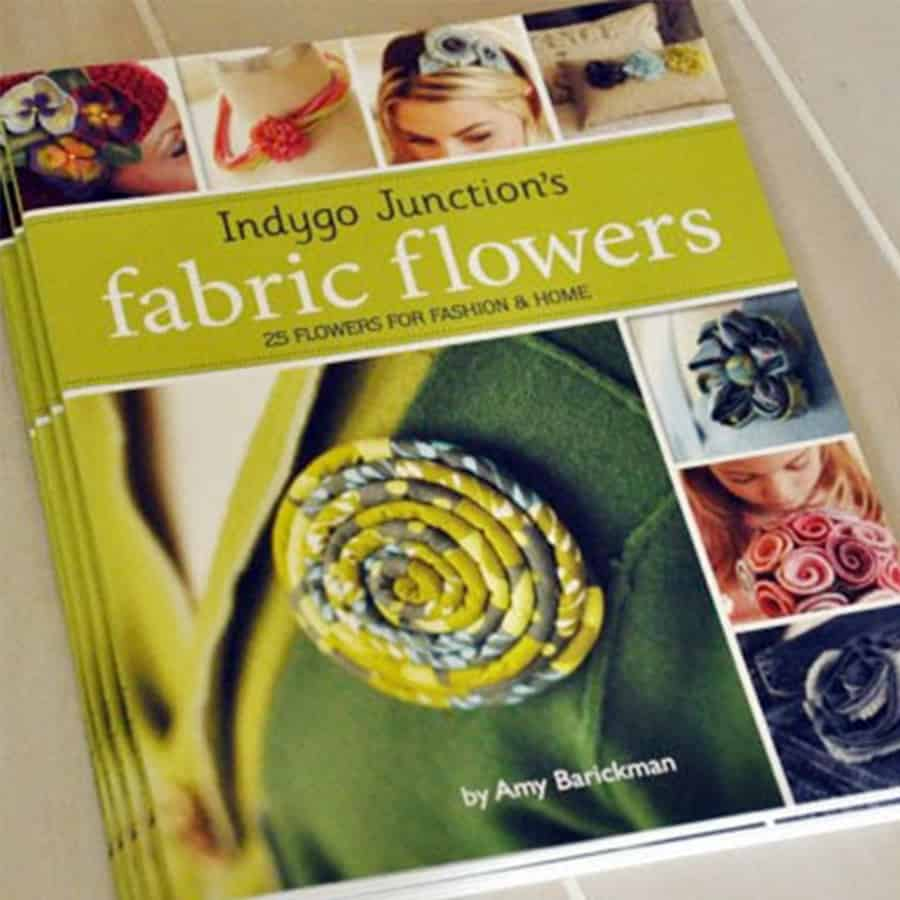 Fabric Flowers book cover
