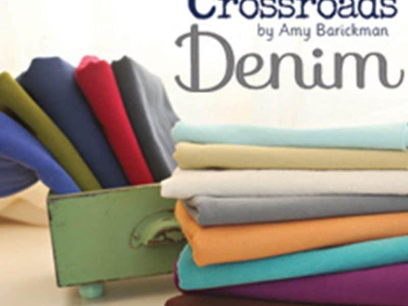 Crossroads Demim Fabric