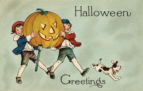 Vintage Workshop image Halloween