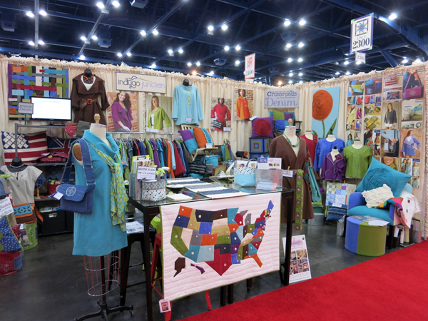 Indygo Junction booth