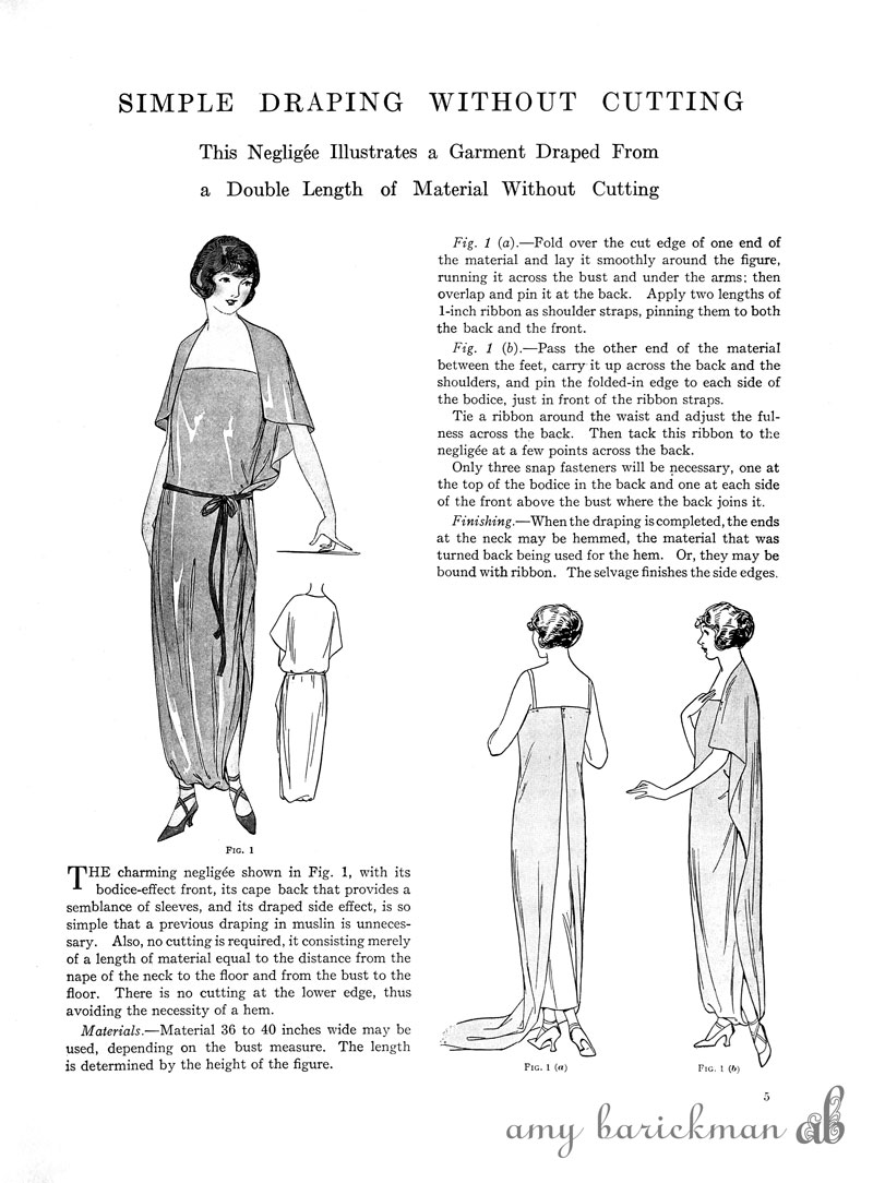 Techniques For Draping And Designing Ebook Amy Barickman