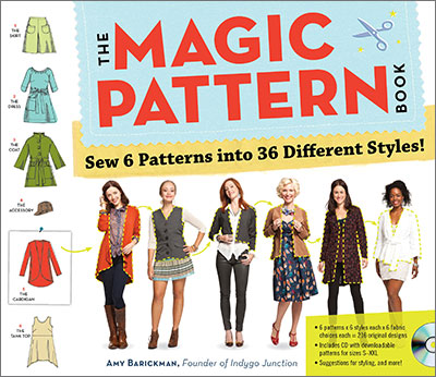 The Magic Pattern Book by Amy Barickman