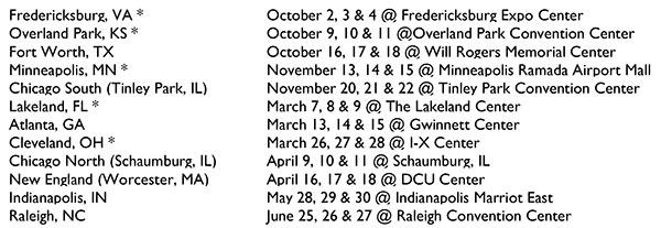 Magic Pattern Book Tour Dates with Amy Barickman