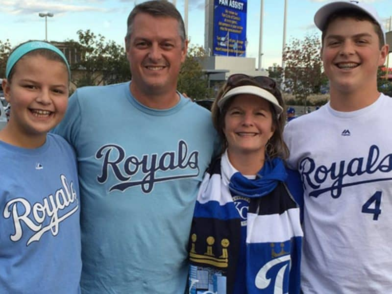 Go Royals - Amy's family