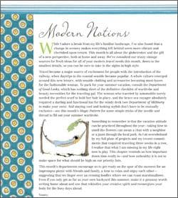 Modern Notions & A Thimbleful of Fun