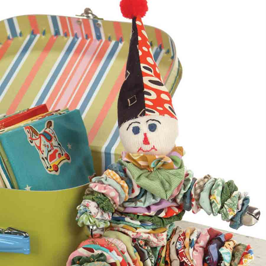 vintage yoyo clown