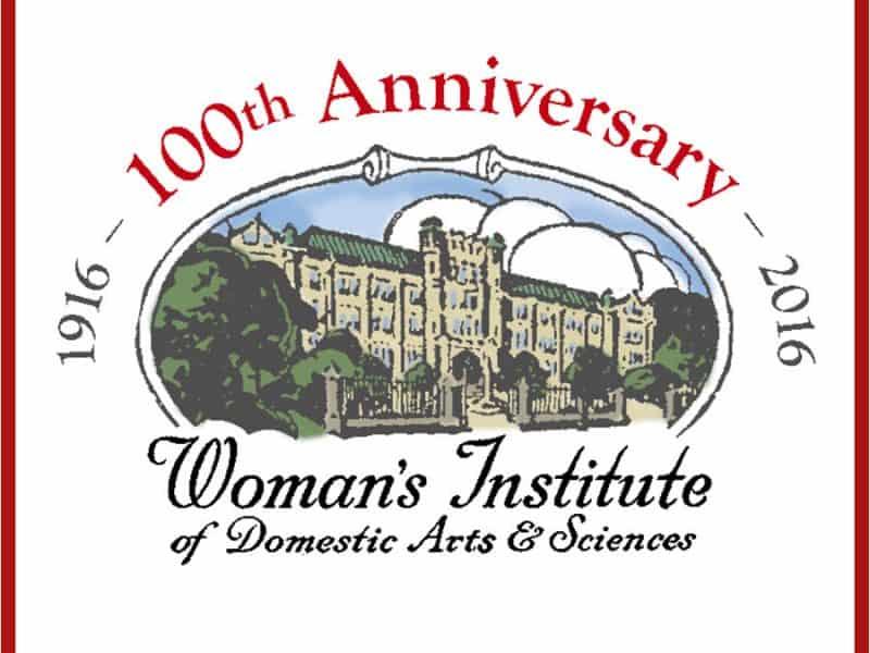 Woman's Institute 100th Anniversary logo