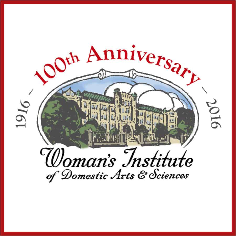 Woman's Institute 100th Anniversary logo