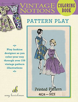 Vintage Notions Coloring Book: Pattern Play