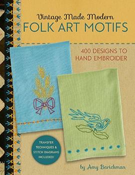 Vintage Made Modern - Folk Art Motifs