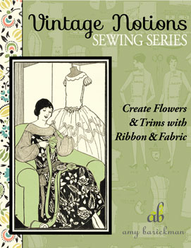 Create Flowers & Trims with Ribbon & Fabric