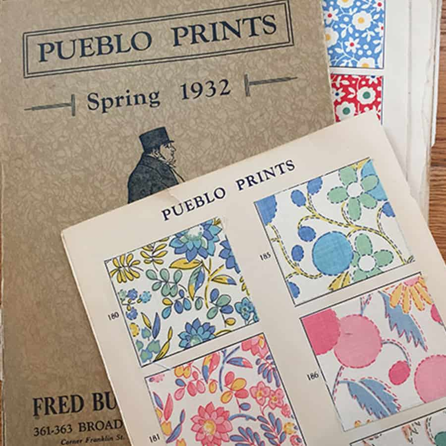 vintage Pueblo Prints book