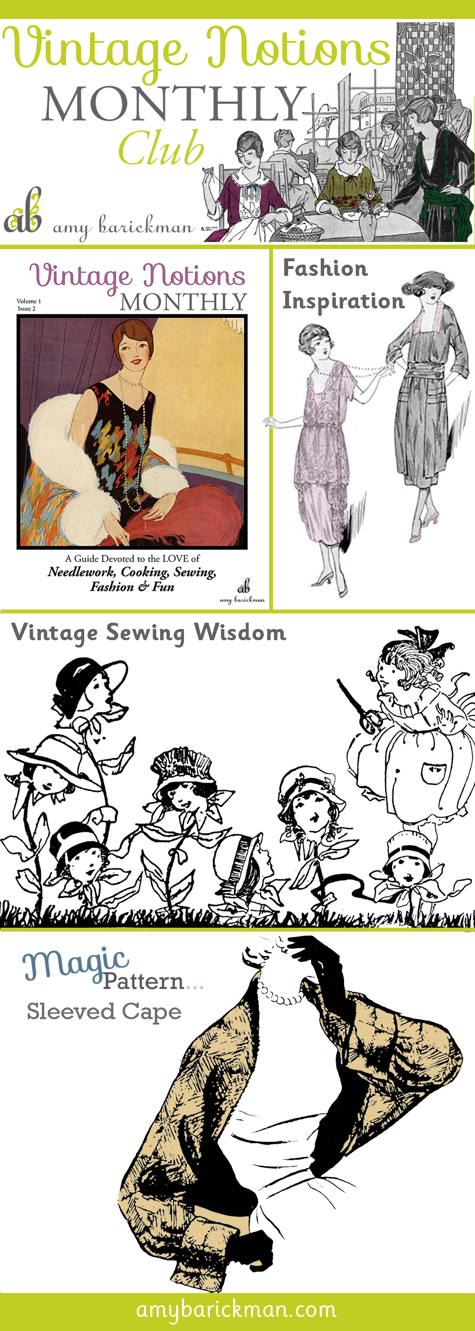 Vintage Notions Monthly-the perfect magazine for every vintage lover!