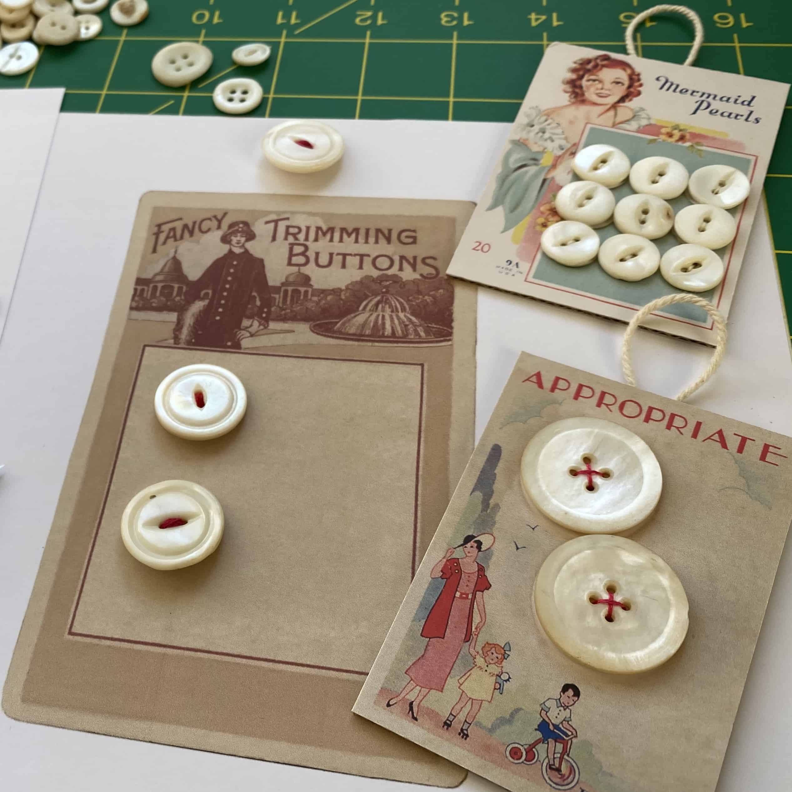 Mother-of-Pearl Button Jewelry MAKES