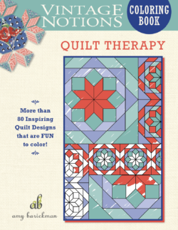 Quilt Therapy front cover