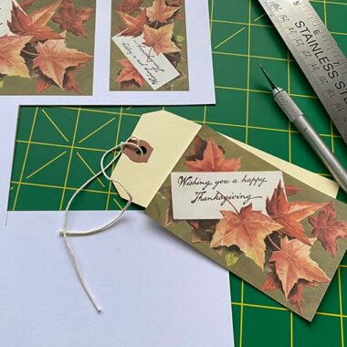 Thanksgiving Wishes craft project