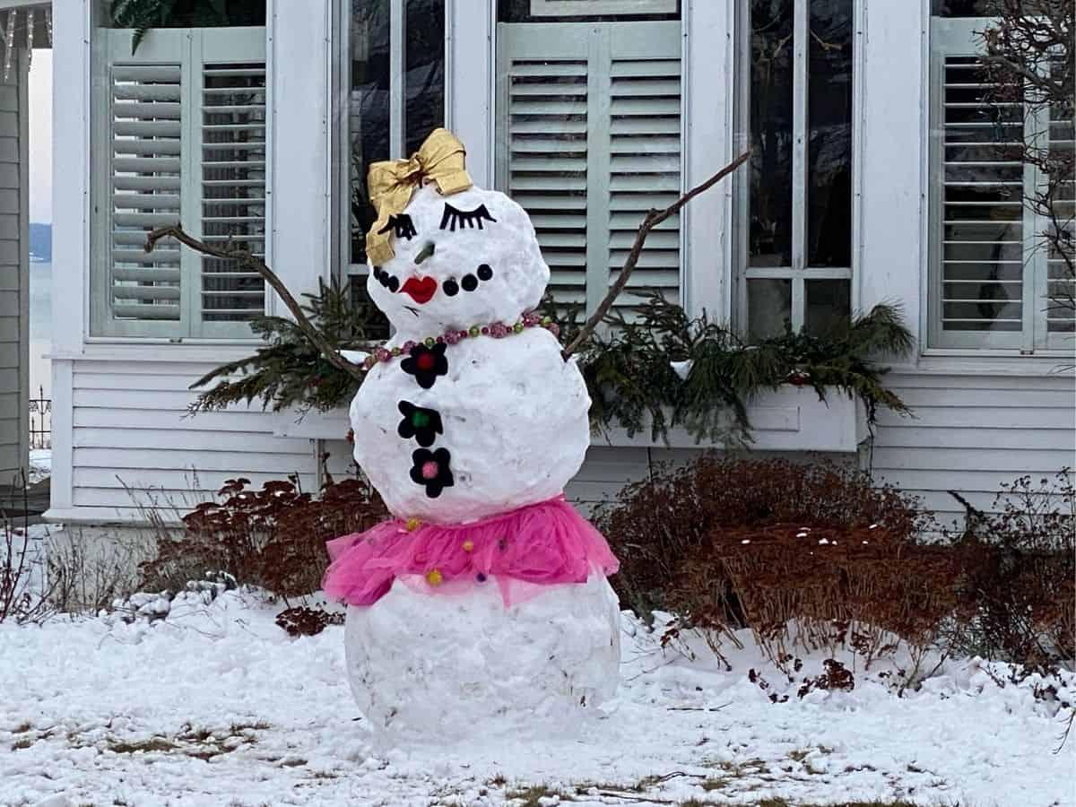 Lady Snowman