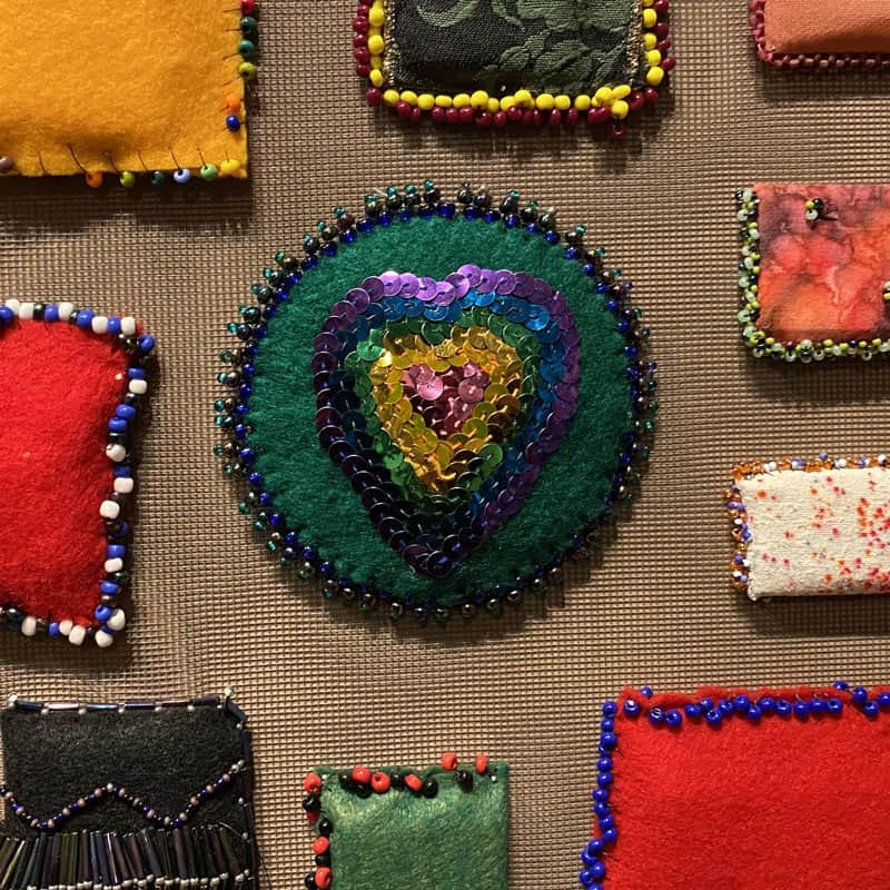 Sonia Clark, Crafting America bead project