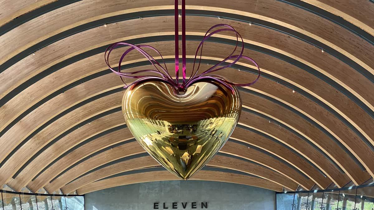 Eleven Restaurant Heart at Crystal Bridges