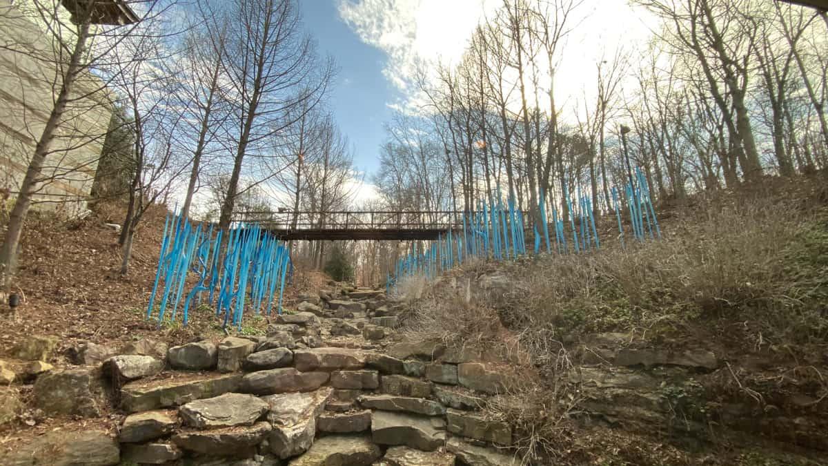 Crystal Bridges outdoor exhibit
