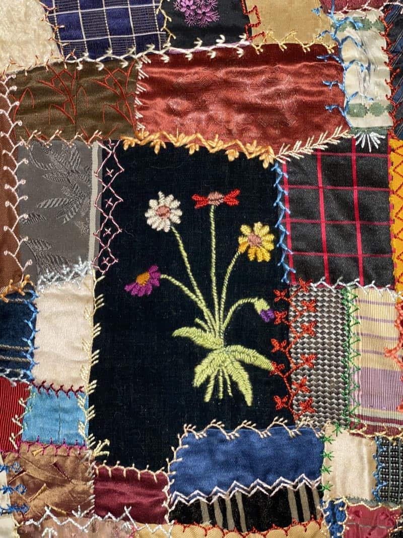 Donna's crazy quilt