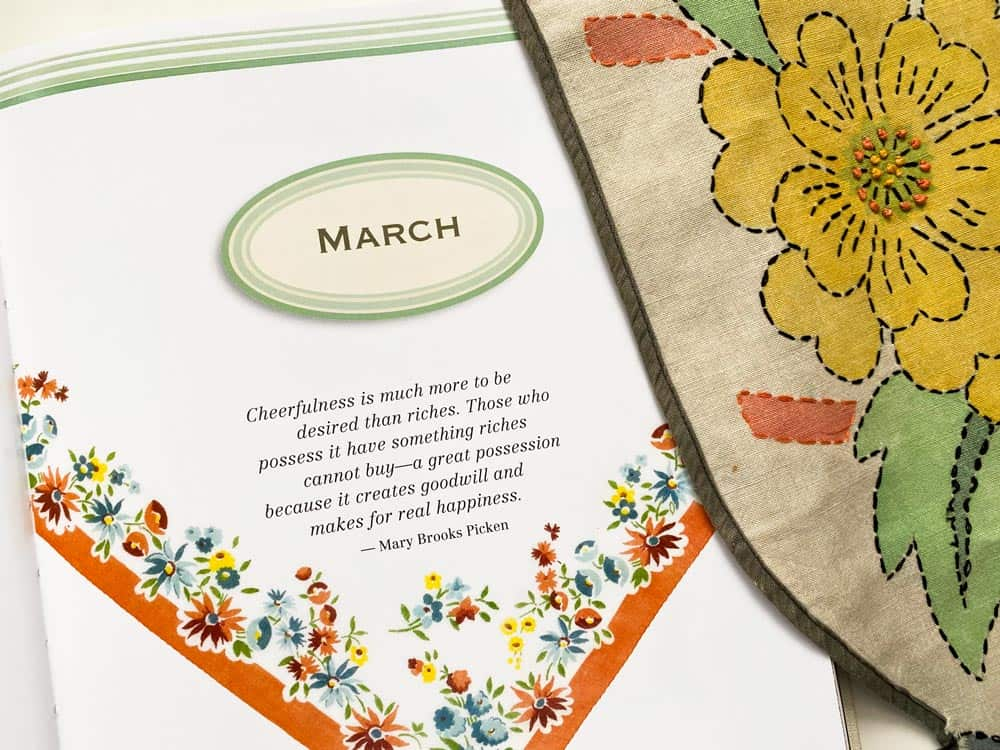 March Quote Mary Brooks Picken