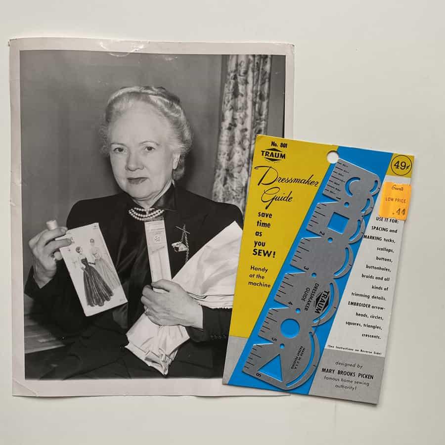 Mary Brooks Picken older years