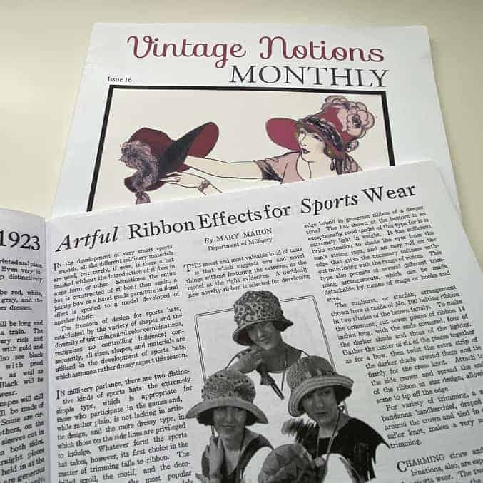 Vintage Notions Monthly Hats