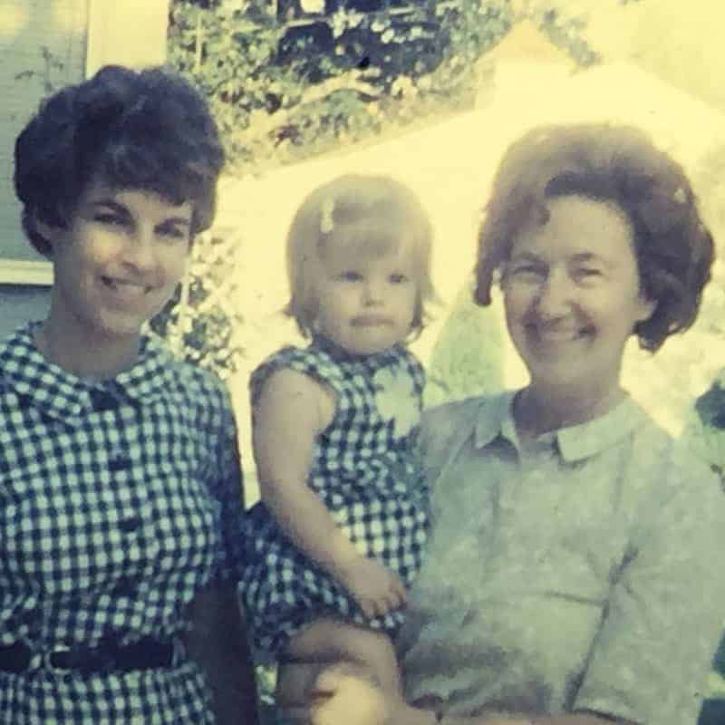 Amy, Donna, and Grandmother
