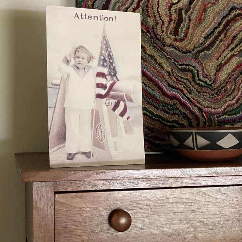 Vintage Notions Dresser Scarf