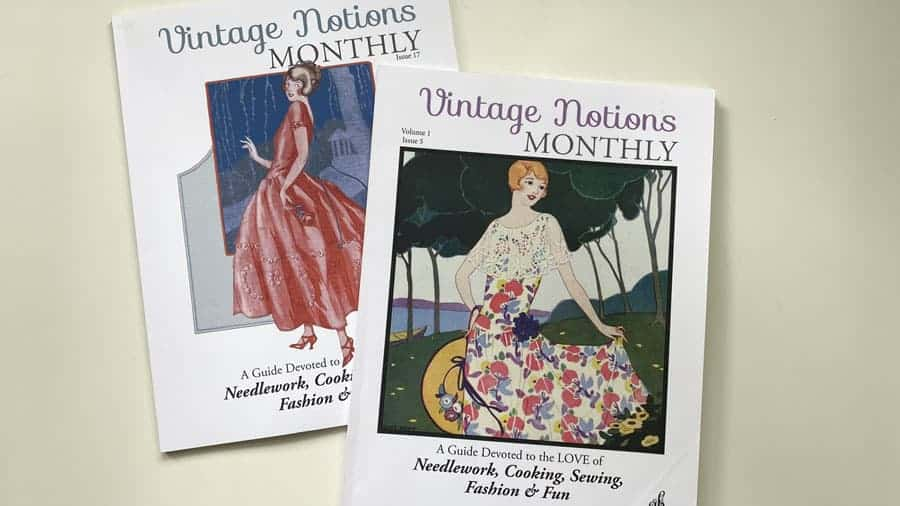 Vintage Notions Monthly May Issues