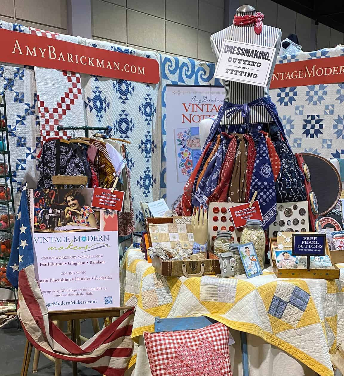 Quilt Festival Booth
