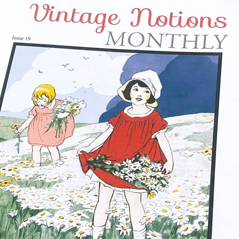 Vintage Notions Monthly Issue 19