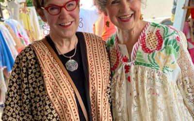 Textile Treasures & Upcycled Fashion!