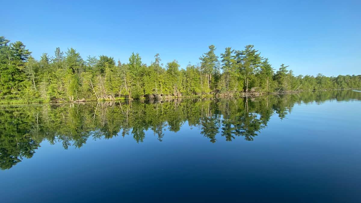 View of Torch Lake