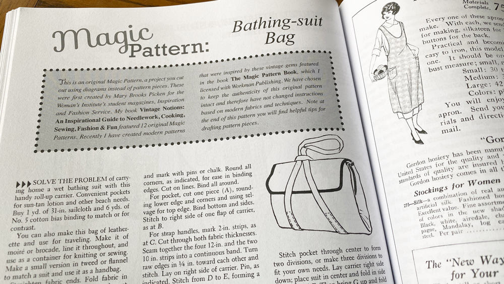 Vintage Notions Monthly Magic Pattern