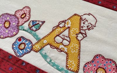 A is For Applique