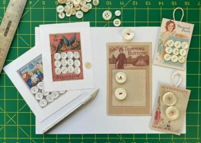 Create button cards with printable art
