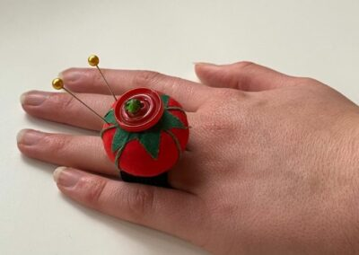 Learn about ideas to create with cherry tomato pincushions