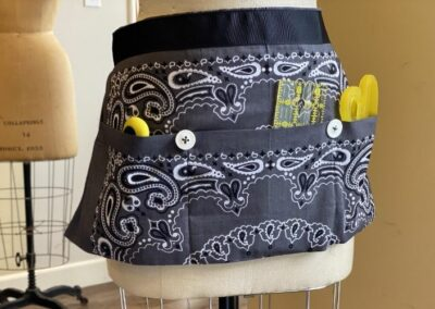 Craft style bandana apron