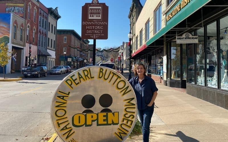 The National Pearl Button Museum in Muscatine, IA