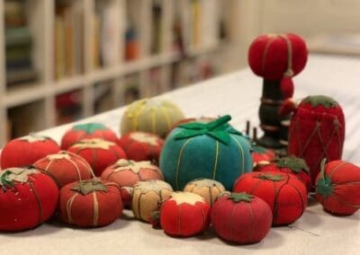 My pincushion collection featured in the Inspiration Album
