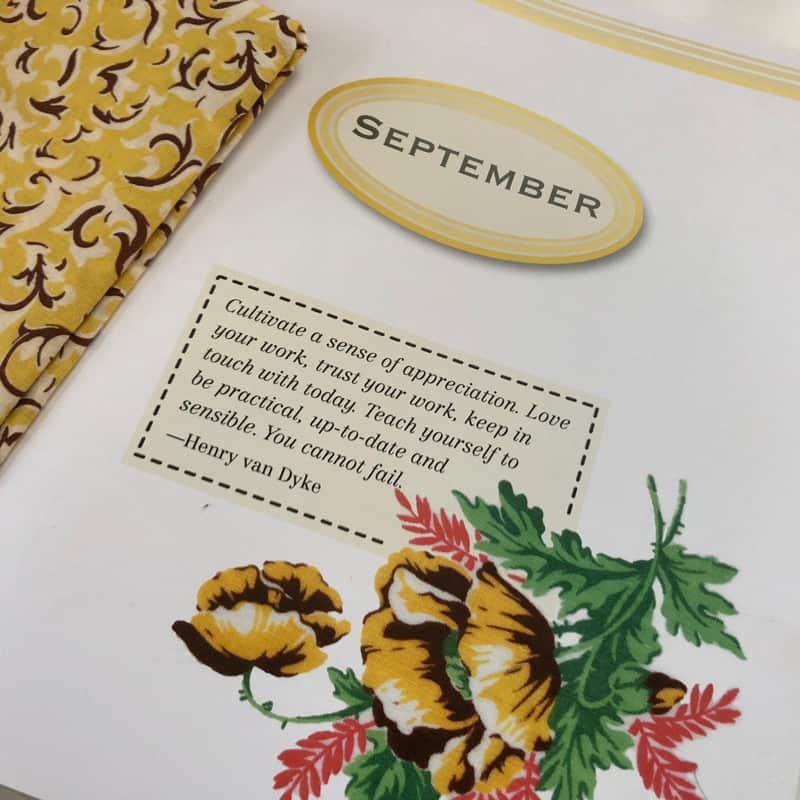 September Vintage Notions